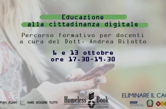 Educazione alla cittadinanza digitale: webinar formativo